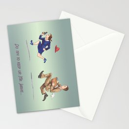 Do Try To Keep Up... Stationery Cards
