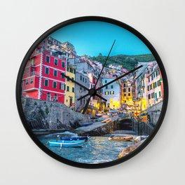 Cinque Terre, Italy Wall Clock