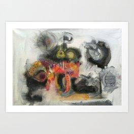 Todays mind Art Print