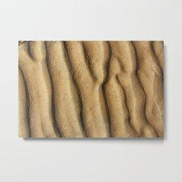 Sand bottom Metal Print