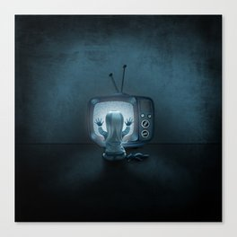 Tune in Poltergeists Canvas Print