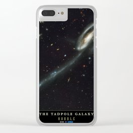 NASA Hubble Space Telescope Poster - The Tadpole Galaxy Clear iPhone Case