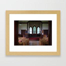 St. Paul's Anglican Church Sanctuary Framed Art Print