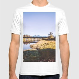 Oregon River and Mountains-PNW T-shirt