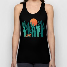Desert fox Unisex Tank Top