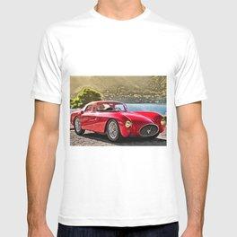 Vintage 1954 Italian Roadster A6GCS Berlinetta Pinin Farina Painting T-shirt