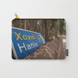 This Way to Hania - Crete, Greece Carry-All Pouch
