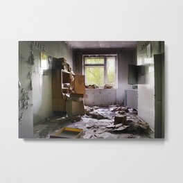 Chernobyl - номер Metal Print