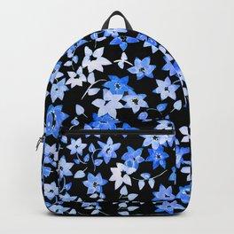Blue Bougainvillea Backpack