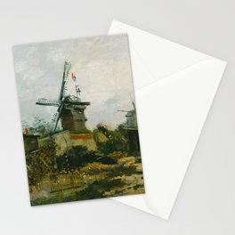 Windmills on Montmartre Stationery Cards