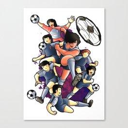 Captain Anime Canvas Print