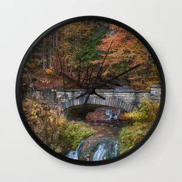 the Stone Bridge Wall Clock
