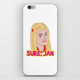 Sure Jan iPhone Skin