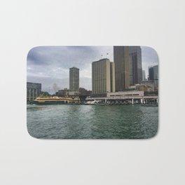 Sydney Ferry Terminals Bath Mat
