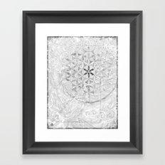 Mono°Dual^ExIStnz Framed Art Print