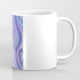 Patterned Purple Paisley Coffee Mug