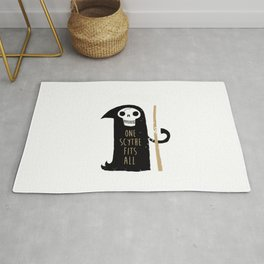 One Scythe Fits All Rug