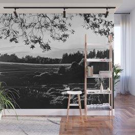 idyllic nature landscape vabw Wall Mural