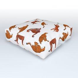 cheetah wild Outdoor Floor Cushion