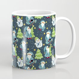 Christmas Winter Pattern Coffee Mug