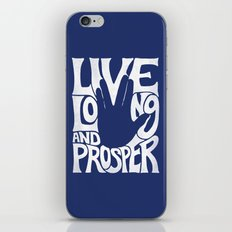 Live Long and Prosper iPhone & iPod Skin