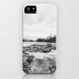 | the whisper of the river - reveals secrets | iPhone Case