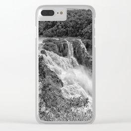 Stunning Barron Falls Clear iPhone Case