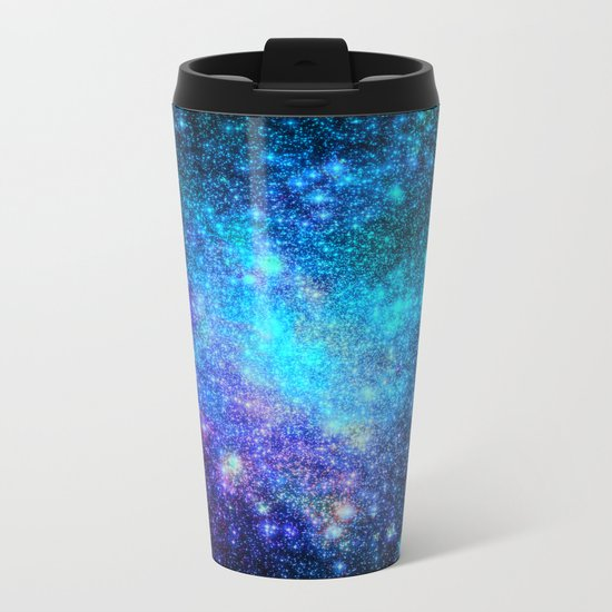 Magical Nebula Universe Metal Travel Mug