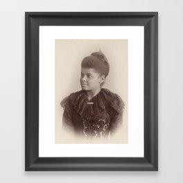 Ida B. Wells, 1893 Framed Art Print