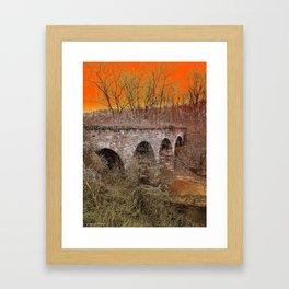 Grampa Bridge Framed Art Print