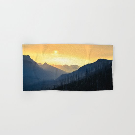 Sunrise Over Mountains Hand & Bath Towel