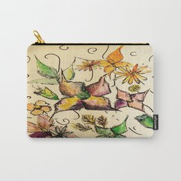 Fruitful Florals Carry-All Pouch