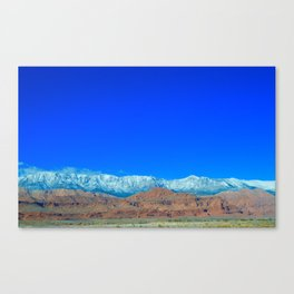 For the Love of Utah Canvas Print