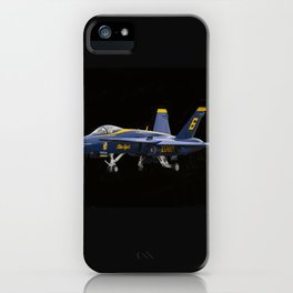 Blue Angel iPhone Case