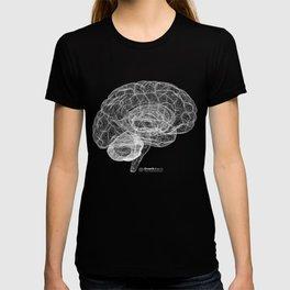 DELAUNAY BRAIN b/w T-shirt