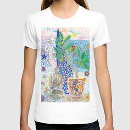 Buddha and Frangipani T-shirt