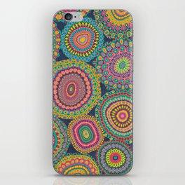 Boho Patchwork-Eden colors iPhone Skin