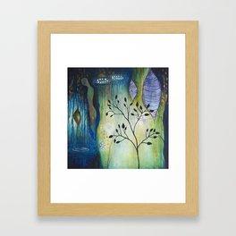 Reflection of Beginnings Framed Art Print