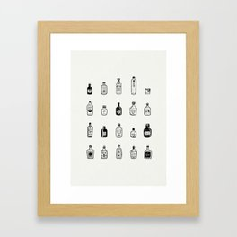 Lil' Gins Framed Art Print