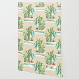 Desert planter Wallpaper