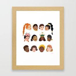 Women's Day 2019 Framed Art Print