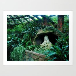 Mother Mary in Nature Art Print