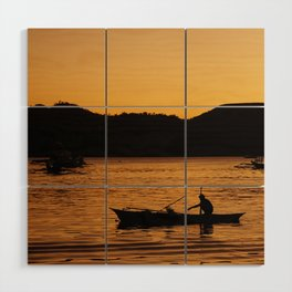 Tranquil Coron Wood Wall Art