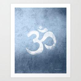 OM Namaste Art Print