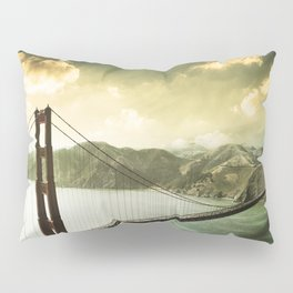 golden gate bridge in san francisco Pillow Sham