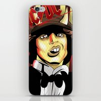 acdc iPhone & iPod Skins featuring Rockarture ACDC by JHC Studio