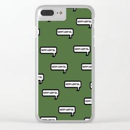 Sempiternal - Green Clear iPhone Case