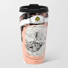 Journey to the center of the earth Metal Travel Mug