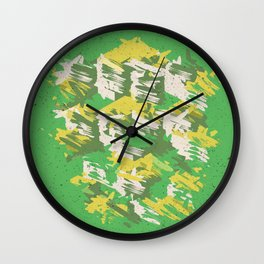 Green Summer P1 Wall Clock