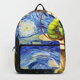 Alice & The Caterpillar Starry Night - Alice In Wonderland Backpack